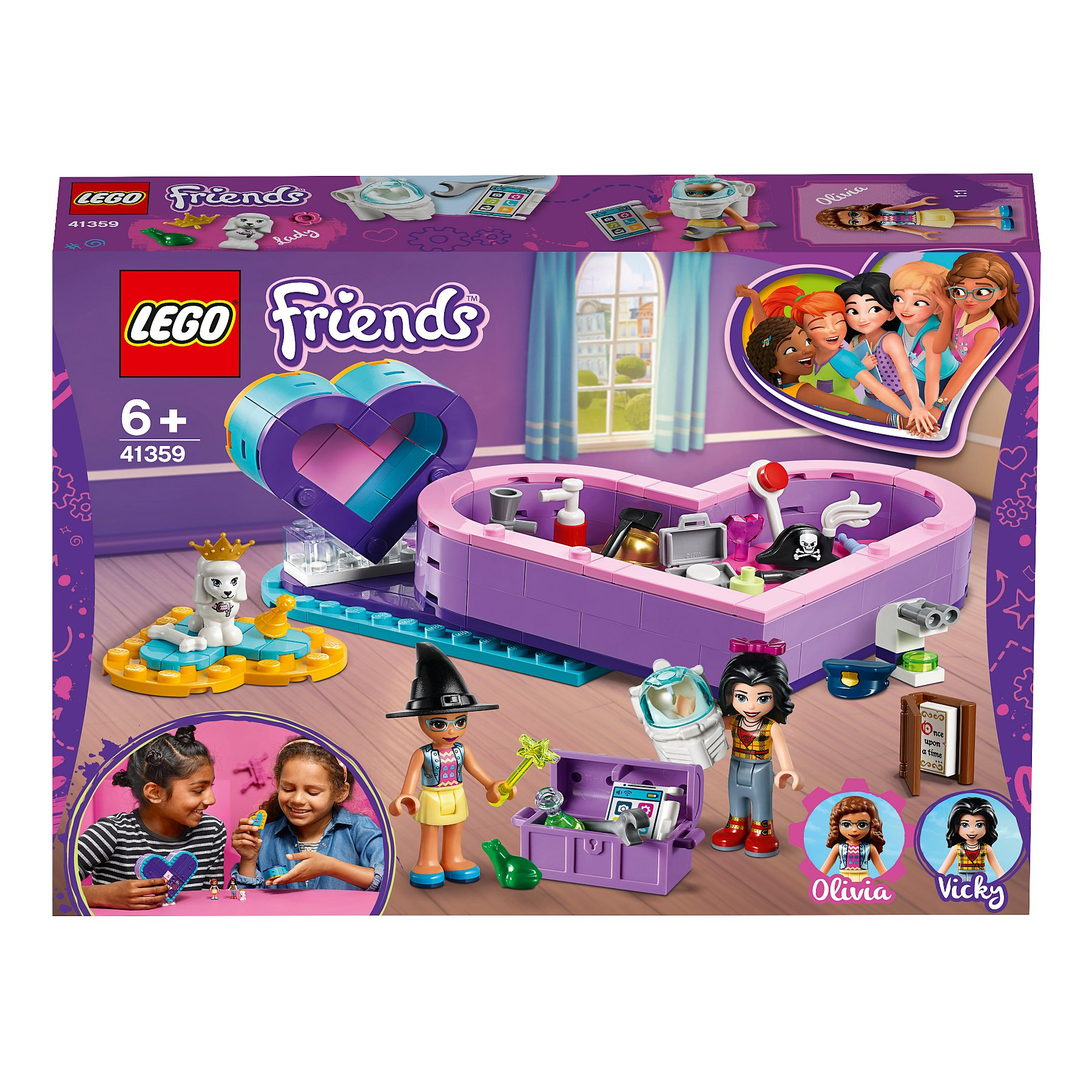 Lego Friends 41359 Heart Box Friendship Pack Toys Character