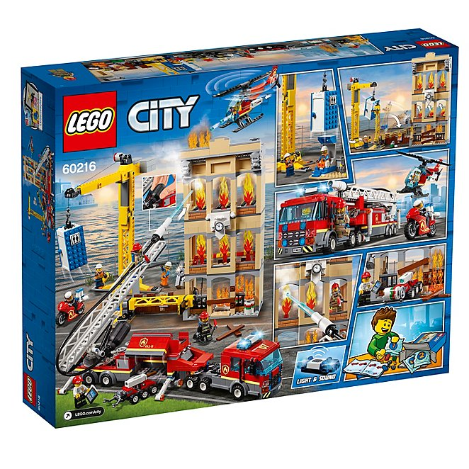 LEGO City Fire - 60216 - Downtown Fire Brigade