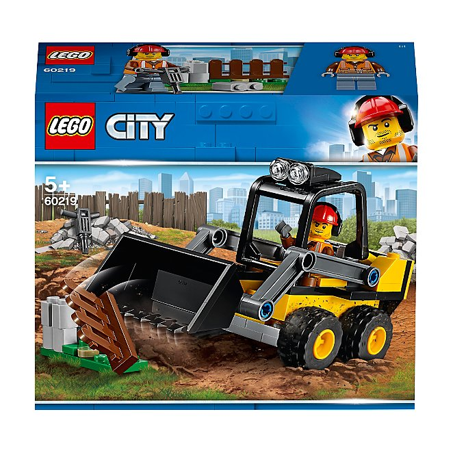 Lego City Great Vehicles 60219 Construction Loader Toys