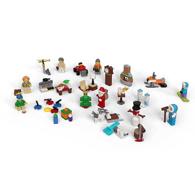 LEGO City Advent Calendar 2019 24 Mini Builds - 60235