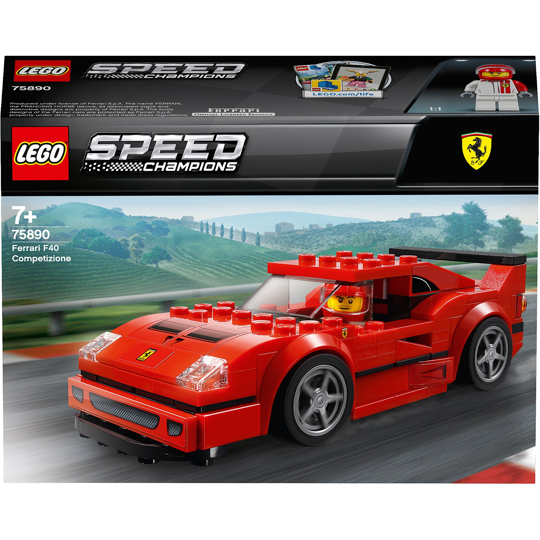 Lego Speed Champions 75890 Ferrari F40 Competizione Toys Character George