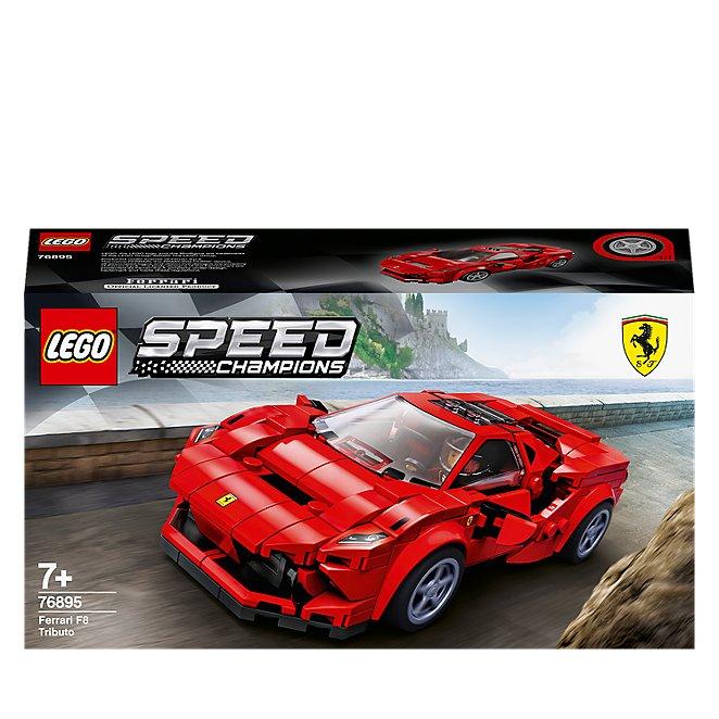 Lego Speed Champions Ferrari F8 Tributo 76895 Toys Character George