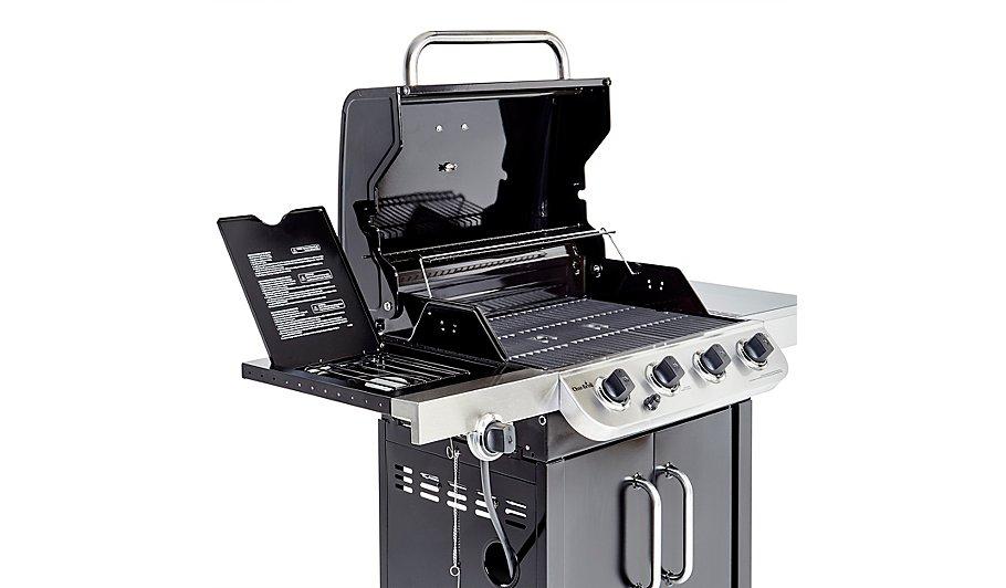 Char-Broil 4 Burner & Side Gas Grill | Home & Garden | George