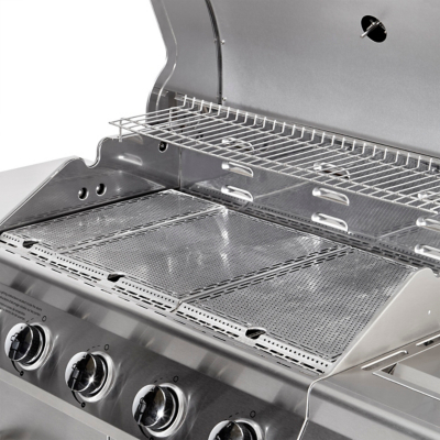 Nexgrill Gasgrill Test : Nexgrill evolution infrared plus burner side gas grill home