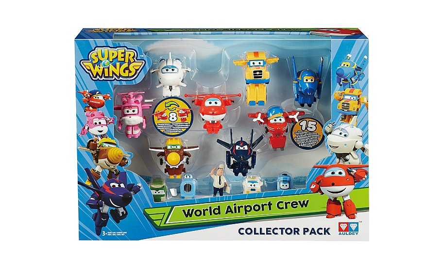 Super Wings - World Airport Crew collector NEW Characters | Toys ...