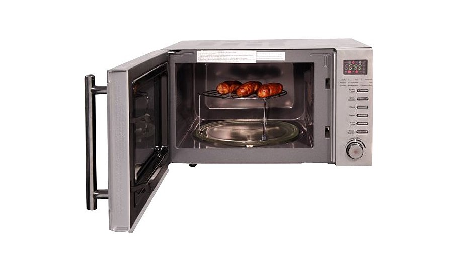 Rus Hobbs Rhm2031 Microwave With Grill Stainless Steel