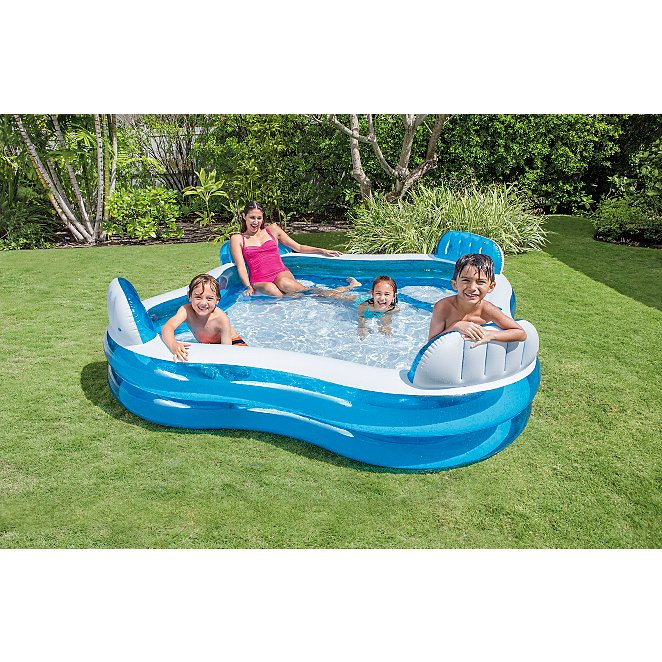 Intex Inflatable Family Lounge Pool Reset