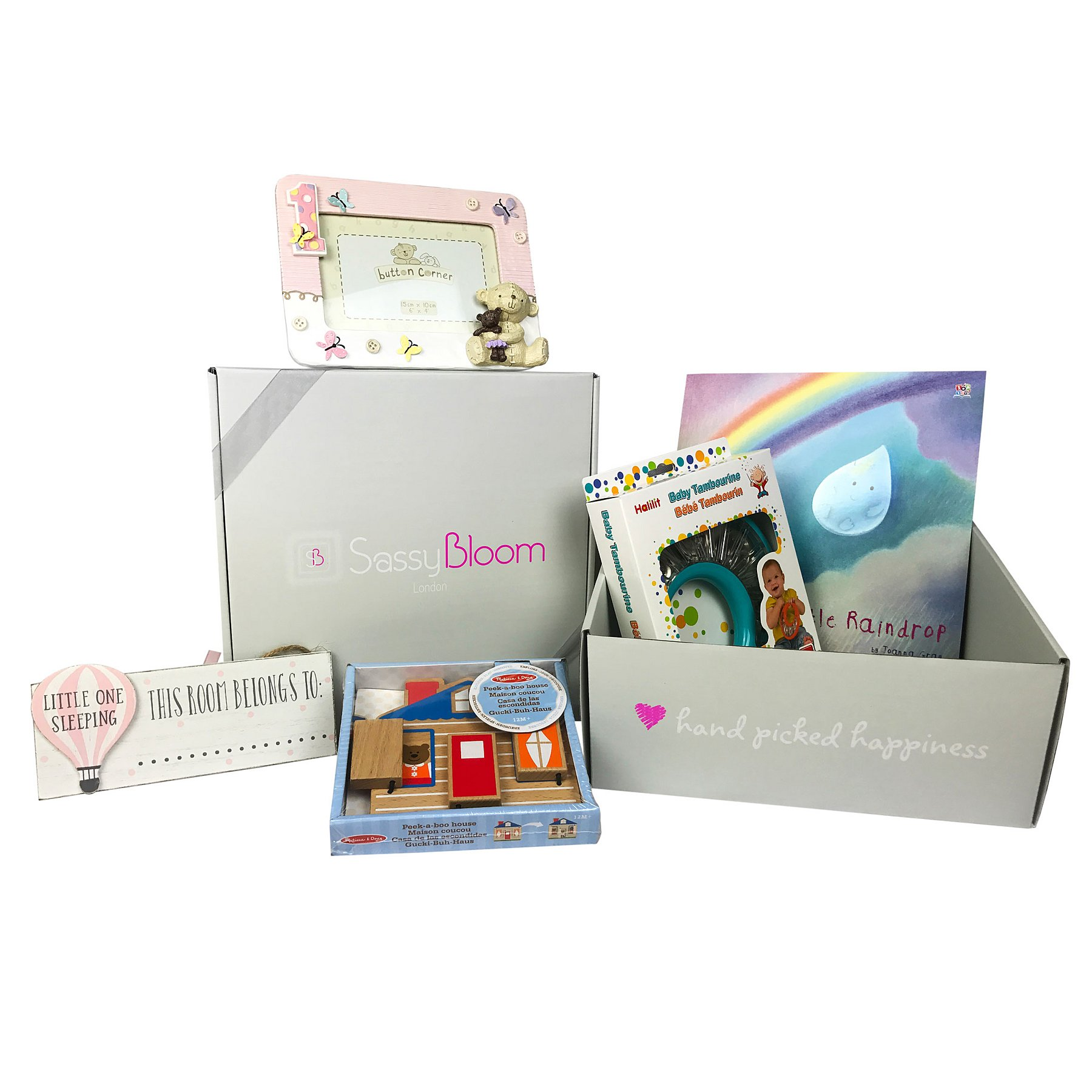 Sassy Bloom 1st Birthday Baby Gift Box
