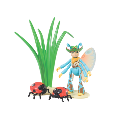 Tree Fu Tom Deluxe Figure  Ariela with Ladybirds