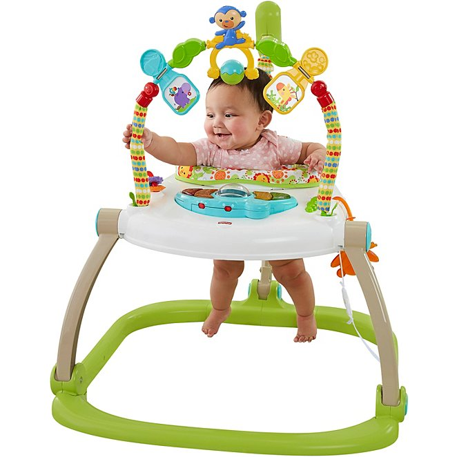 4ec37e83385a Fisher Price - Rainforest Friends Spacesaver Jumperoo