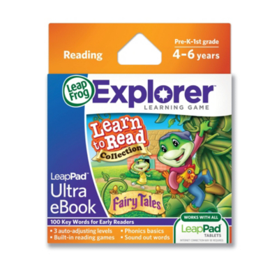 LeapFrog LeapPad Ultra eBook Learn To Read Collection Fairy Tales