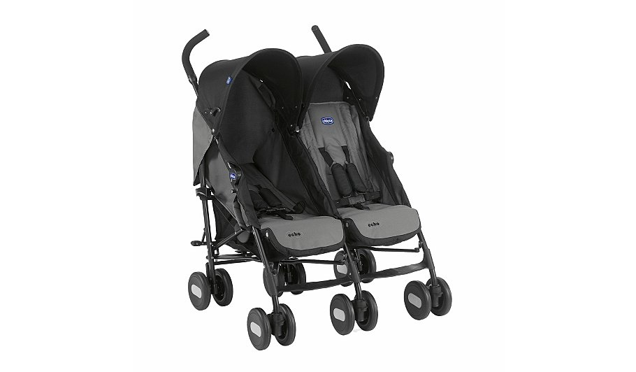 Chicco Twin Stroller | Baby | George at ASDA