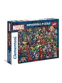 bc37356d045b Clementoni 39411 Marvel Avengers Impossible Puzzle