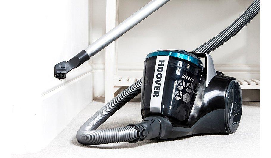 hoover breeze br71br01 bagless cylinder vacuum cleaner home
