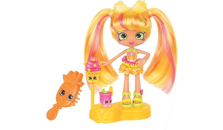 Shopkins Shoppies Themed Dolls - Pineapple Lily | Kids | George at ASDA