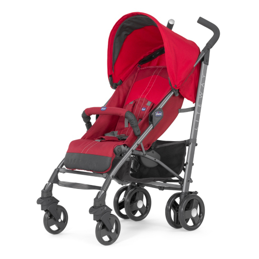 how to close a chicco stroller