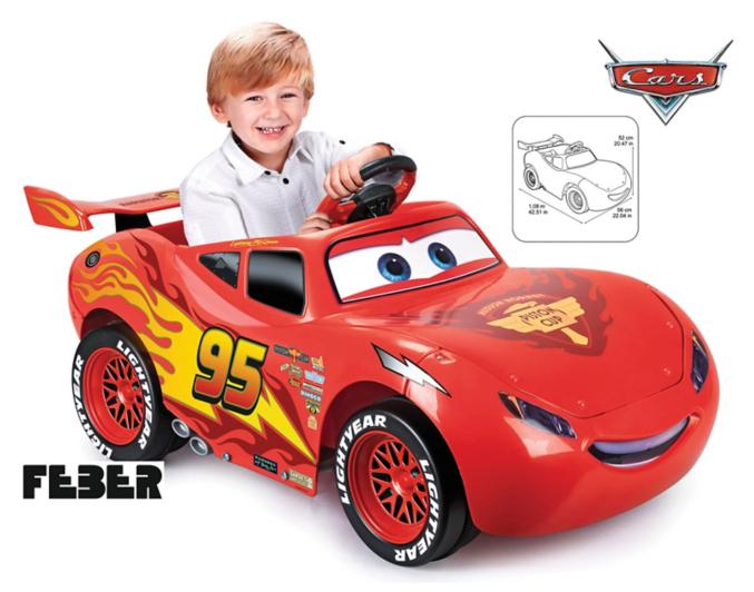 Disney Cars Lightning Mcqueen Ride On Car Toys