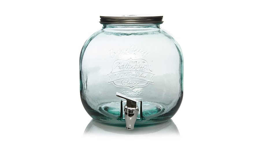 Asda Glass Jar Tap
