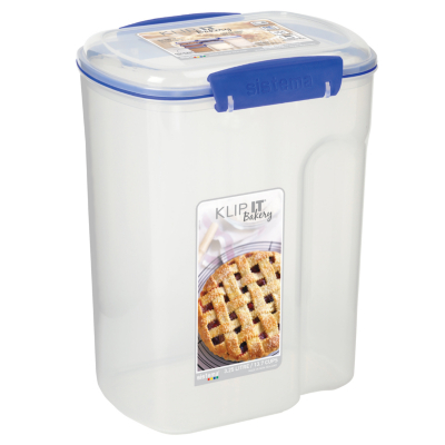 Good Food Storage Containers Asda Part - 7: Sistema Klip It Bakery Box - 3.25 Litres