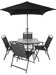 Miami 2 Pack Folding Chairs Home Amp Garden George At Asda