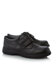 Boys School Twin Strap Shoes
