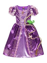 Purple Princess Kids Outfit - Fancydress.com
