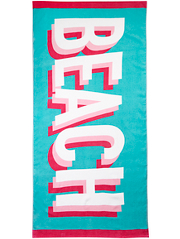 beach towels home garden george at asda. Black Bedroom Furniture Sets. Home Design Ideas