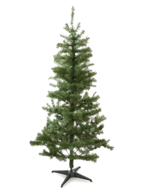 6ft Round Tip Green Christmas Tree