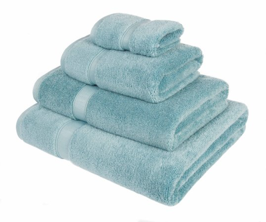 Super Soft Cotton Towel Range - Duck Egg