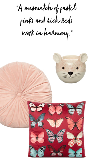 Put a romantic spin on your home décor with our Vintage Romance trend at George.com