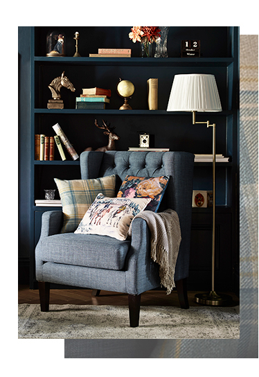 From timeless accessories to modern furnishings, browse our Modern Heritage range at George.com