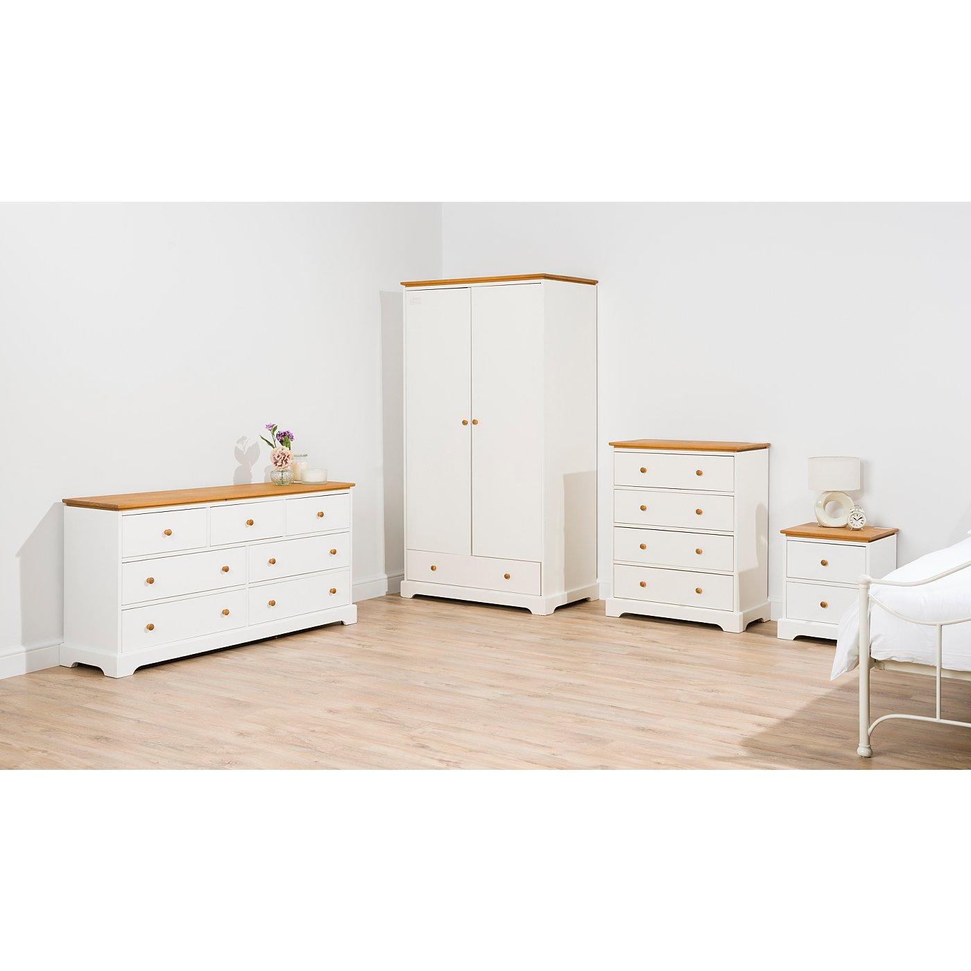 George Home Gilmore Bedroom Furniture Range   Two Tone  Loading zoom. George Home Gilmore Bedroom Furniture Range   Two Tone   Chest of