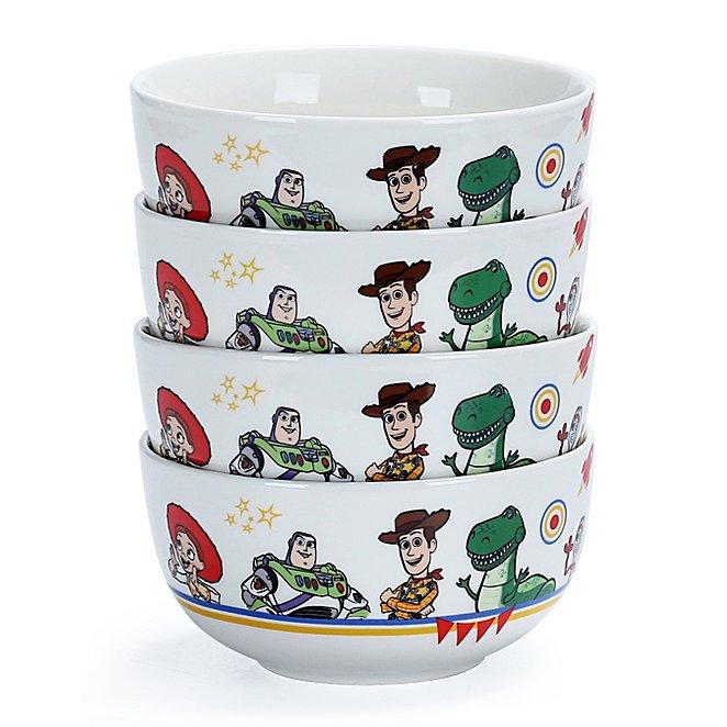 Disney Toy Story Bowls Set Of 4 George