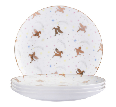 ... Unicorn Tableware Range alternative view ...  sc 1 st  George - Asda & Unicorn Tableware Range | George