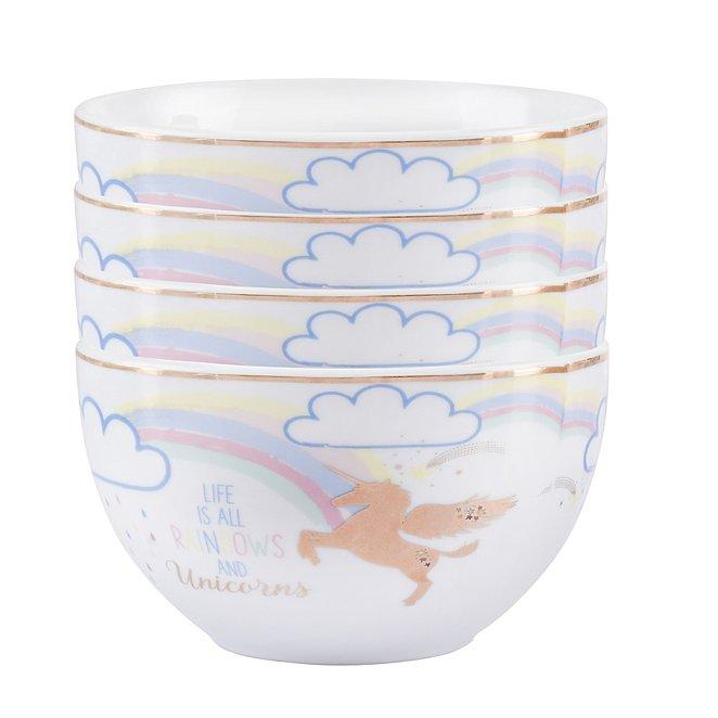 Unicorn Cereal Bowl Set Of 4 George At Asda
