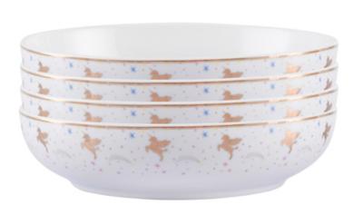 Unicorn Pasta Bowl - Set of 4  sc 1 st  George - Asda & Unicorn Pasta Bowl - Set of 4 | George