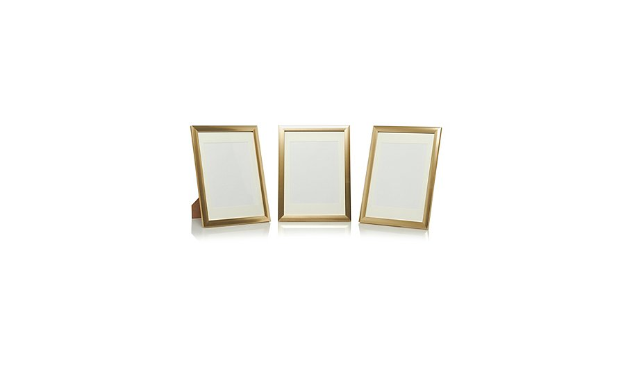 Plastic Frame - 9 x 7 Inch- 3 pack | Photo Frames | George at ASDA