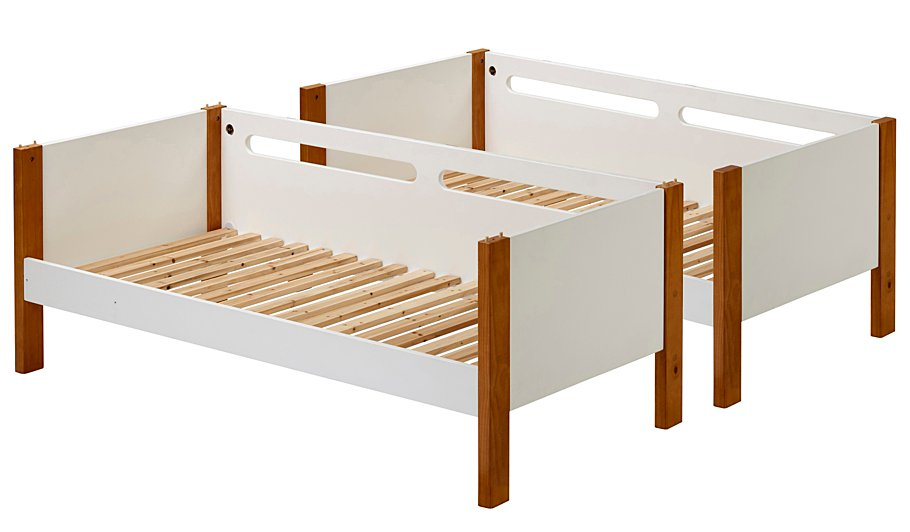 alfie detachable bunk bed two tone kids beds george