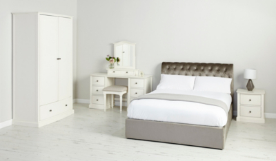 Suzette Ottoman Bed in Pewter Double Beds George at ASDA