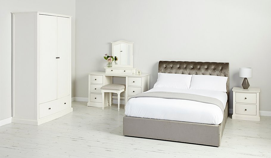 Double clicktap to zoom or select Image to load. George Home Suzette Ottoman Bed in Pewter   Double   Beds   George