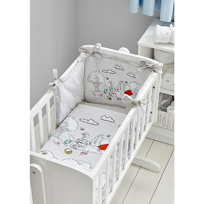 Disney Winnie The Pooh Crib Bedding Bundle