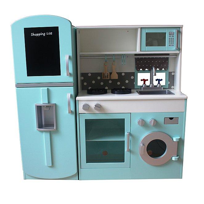 Wooden Kitchen and Fridge Set. Reset c13fe4a91