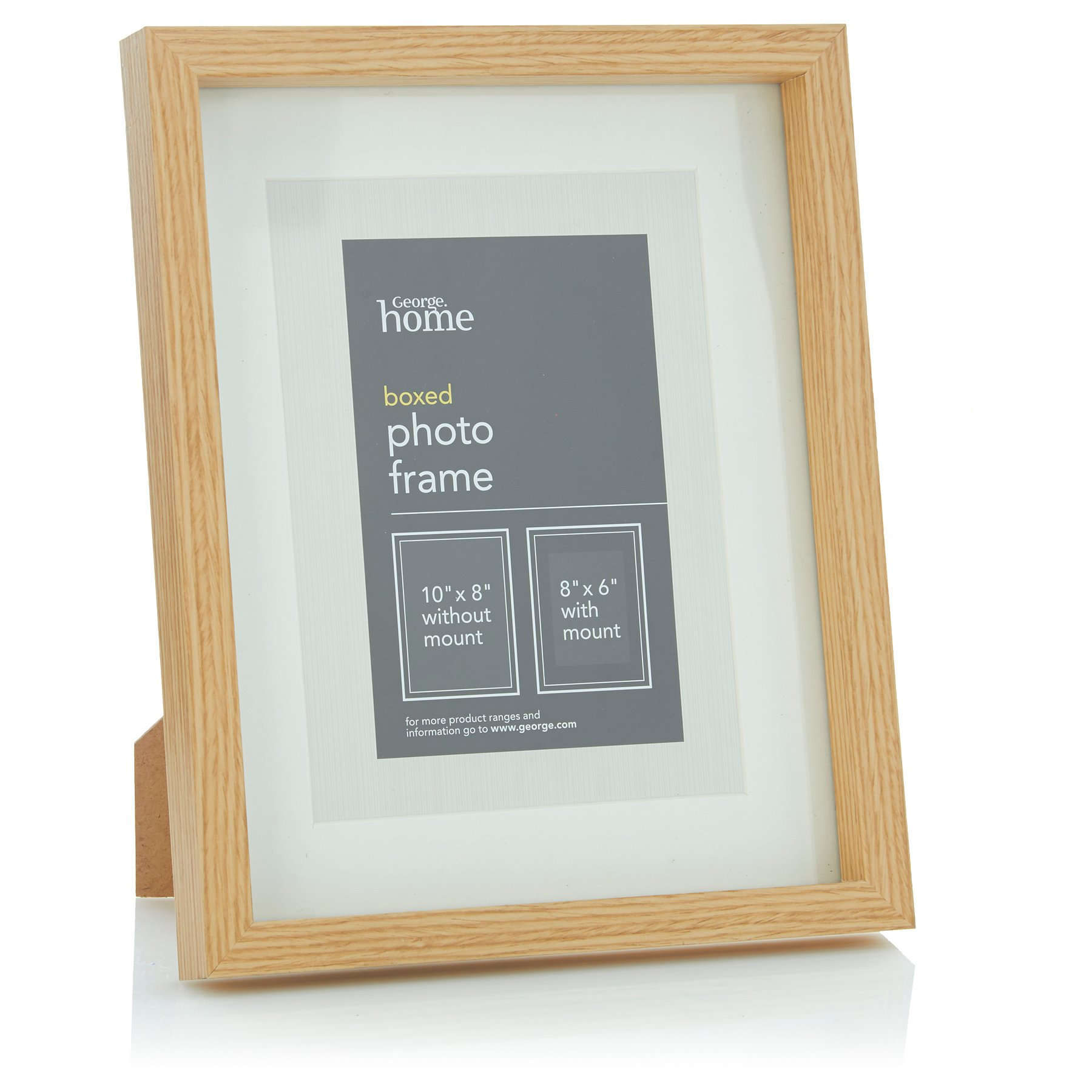 Gold Boxed Frame 8x6 Inch 3 Pack George