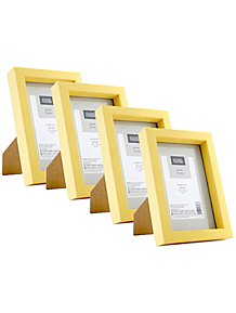 Yellow Box Frame 6x4inch 4 Pack 608028d062