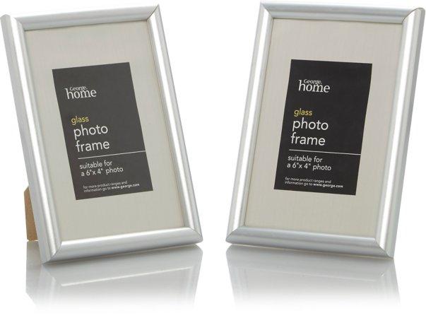 Silver Photo Frame Range