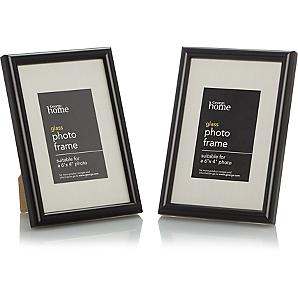 black a4 frame asda. Black Bedroom Furniture Sets. Home Design Ideas