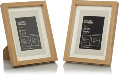 Superior Wood Photo Frame 7 X 5 Inch   2 Pack