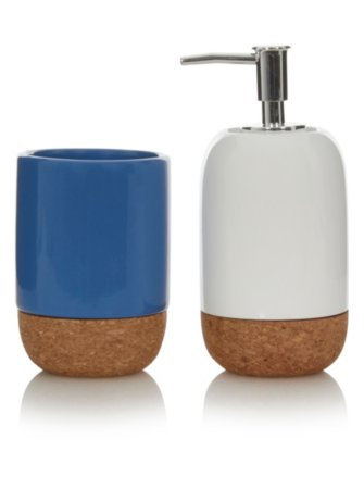George Home Cork and Ceramic Bath Accessories Range
