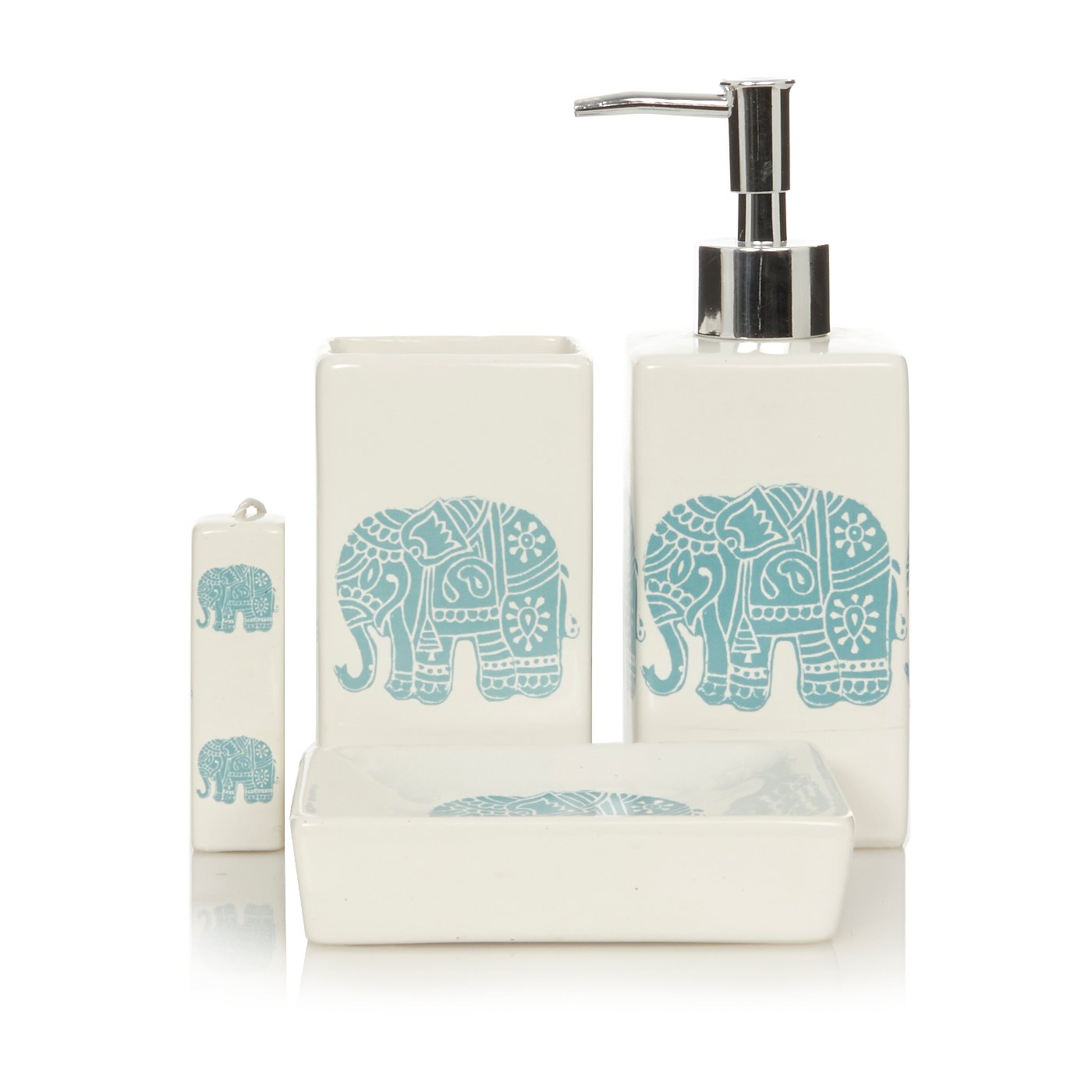 George Home Elephants Bathroom Accessories. Loading zoom