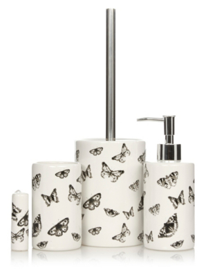 Genial George Home Butterfly Bath Accessories Range. Loading Zoom